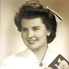 HARRIET ALEXANDRA (TOMMIE) WEIR  Obituary pic