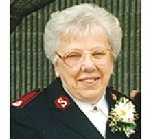MAJOR DOROTHY PEARL MILLAR (KNAAP) Obituary pic