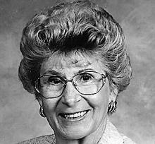 MARGERY ETTA PARKS  Obituary pic