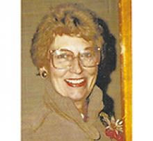 SHIRLEY STEWART O'GRADY (ANDERSON) Obituary pic