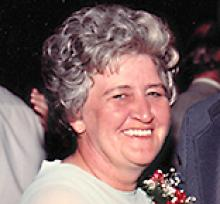 MARY EMILY YASHUK  Obituary pic