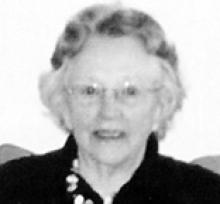 GERALDINE LILLIAN BROWN (GRIERSON)  Obituary pic