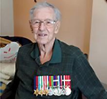 HUGH JOHN CALDWELL  Obituary pic