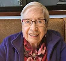 RUTH ELEANOR MCRAE (FOSSAY) Obituary pic
