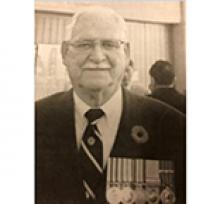 MAJOR J. G. COUTTS, CD  Obituary pic