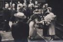 king george and queen elizabeth during royal visit in winnipeg - 1939