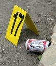 Crime scene at ...