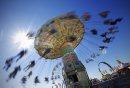 June 24, 2012 - 120624  -  Amusement riders on the last day of The Ex Sunday June 24, 2012.    John Woods / Winnipeg Free Press
