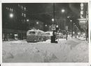 Jack Ablett/Winnipeg Free Press Archives Winnipeg Blizzard (39) March 15, 1966 Portage Avenue & Donald Street, midnight fparchive