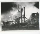 Winnipeg Free Press Archives Time Building Fire (14) June 11, 1954 Flood light at fire scene fparchive