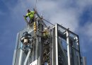 Building crews ...