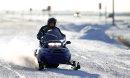 A snowmobilers ...