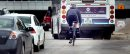 Cyclists make ...
