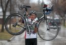 Cyclist Arvid ...
