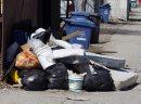 Garbage dumped ...