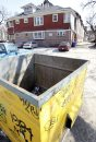 The  dumpster ...