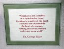 framed quote ...