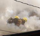 House fire , ...