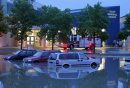 Flash flooding ...