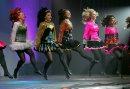Irish dancers ...
