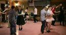 Swing dancers ...