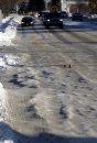 Ice ruts on ...