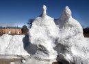 The giant snow ...