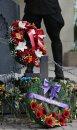 RCMP wreath , ...