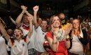 Fans celebrate ...