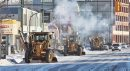 Snow clearing ...