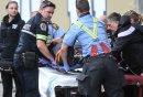 An injured ...
