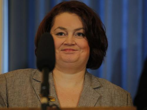 Jennifer Howard, minister of family services and labour.  January 13, 2012 BORIS MINKEVICH / WINNIPEG FREE PRESS