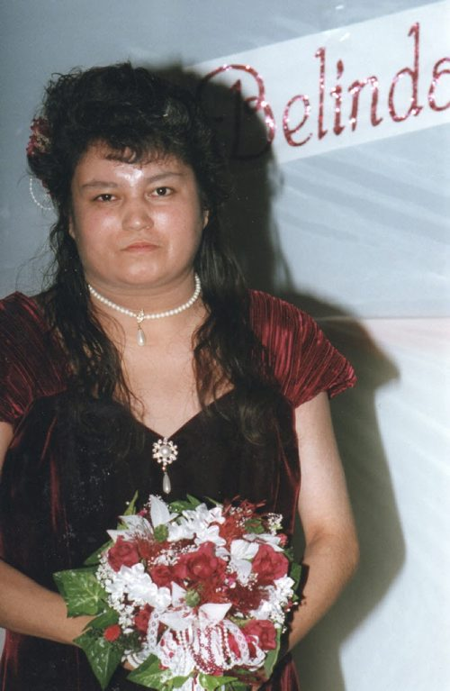 *Please note this is for newspaper use only and not the web*. The family of the city's latest homicide victim has identified her as 38-year-old Belinda Vivian McKay. Winnipeg police confirmed it was McKay's body that was found in an apartment building on Edmonton Street Friday March 9 2012 evening. Family photo/CTV Winnipeg. Winnipeg's 6th homicide of the year 2012.