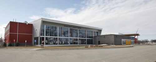 Portage la Prairie PCU Centre – the town has chosen to build a high end  recreational complex  -  with  the pool , Lazy River  water resistance exercise area , 2 hockey  rinks , exercise  facility , meeting rooms  some pics  with Mr. PCU Centre  Jeff Bereza -- Bill Redekop story – KEN GIGLIOTTI  / WINNIPEG FREE PRESS  / MARCH 15 2012
