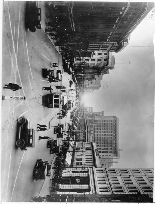 Winnipeg Free Press Archives Portage Avenue and Main Street PortageMain 1929 looking west down Portage Avenue at Main Street.