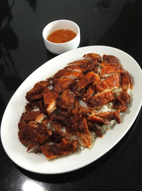 RESTAURANT REVIEW - Thai Bochi. Marinated Grilled Chicken. 870 Logan Ave. July 11, 2012  BORIS MINKEVICH / WINNIPEG FREE PRESS