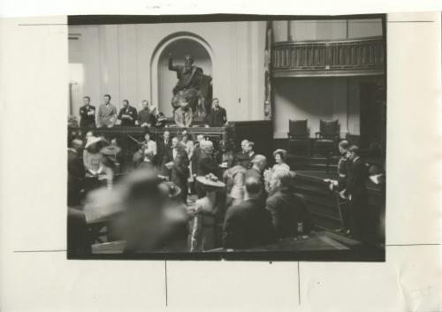 Winnipeg Free Press Archives King George VI and Queen Elizabeth in the Manitoba Legislative Chamber. High Moments in Royal Visit for Winnipeggers fparchive May 25 1939.