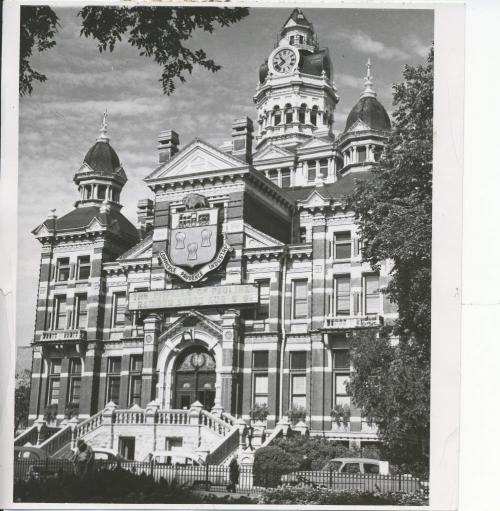 Winnipeg Free Press Archives Winnipeg Old City Hall (15) Aug. 8, 1959 Winnipeg's City Hall Spectacularly Hideous fparchive