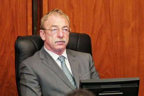 City of Winnipeg's Chief Administrative Officer Phil Sheegl watches the proceedings of council Wednesday morning at City Hall.  121024 October 24, 2012 Mike Deal / Winnipeg Free Press