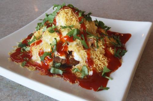 Water Lily East Indian Restaurant- 166 Meadowood Drive-AlooTikki Chaat- See Marion Warhaft review- January 22, 2013   (JOE BRYKSA / WINNIPEG FREE PRESS)