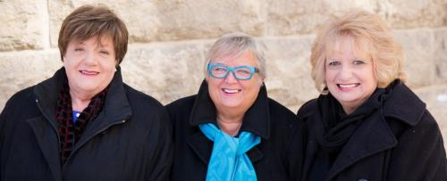 Three mothers who lost their young daughters to violent crime and work with victim advocacy. From left Priscilla de Villiers, Lesley Parrott and Wilma Derksen in Winnipeg Mar 21, 2013. (Melissa Tait / Winnipeg Free Press)