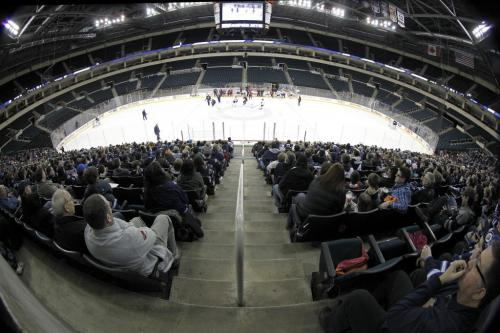 Winnipeg Jets' practicing at MTS Centre in Winnipeg in front of about 3000 fans from the ticket waiting list who were invited to a special open practice, Sunday, April 14, 2013. (TREVOR HAGAN/WINNIPEG FREE PRESS)