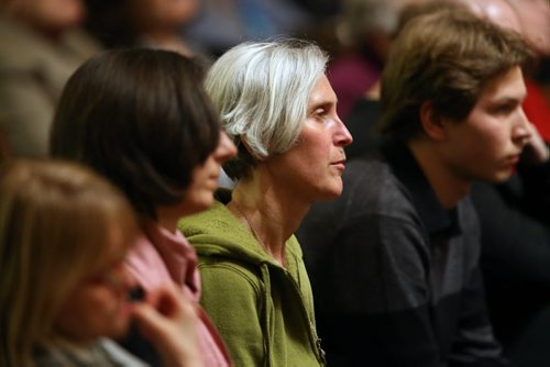 Spectators in the audience during the Aikins Memorial Trophy part of the Winnipeg Music Festival at Westminster United Church, Saturday, March 15, 2014. (TREVOR HAGAN/WINNIPEG FREE PRESS)