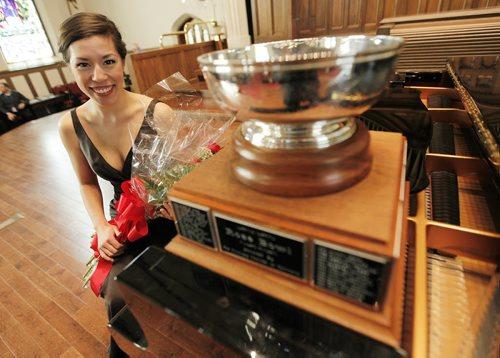 March 23, 2014 - 140323  -  Singer Andrea Lett, winner of the Winnipeg Music Festival Rose Bowl, is photographed at Westminster United Church Sunday, March 23, 2014. John Woods / Winnipeg Free Press