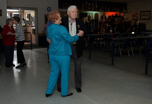 A couple dances at the General Sir Sam Steele Legion on a Wednesday afternoon.  The legion puts on a weekly luncheon and dance.  EMILY CUMMING / WINNIPEG FREE PRESS