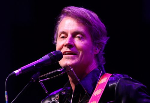 ¬ Jim Cuddy of Blue Rodeo at the Assiniboine Park concert Friday night in Winnipeg–Standup Photo- Sept 05, 2014   (JOE BRYKSA / WINNIPEG FREE PRESS)