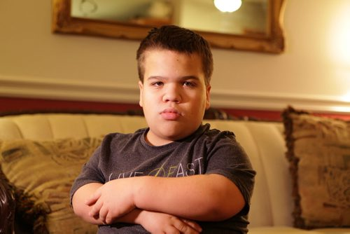 Sixteen year old David Funk is a dwarf, family is filing a human rights complaint for the way he's allegedly treated at school in River East Transcona School Division and for the services the division is not providing for him.   Nov 6,  2014 Ruth Bonneville / Winnipeg Free Press