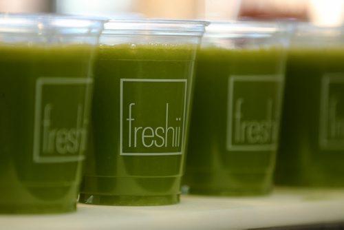 Mighty Detox Juice At Freshii on Corydon, for juice cleanse story, Thursday, October 22, 2015. (TREVOR HAGAN/WINNIPEG FREE PRESS)