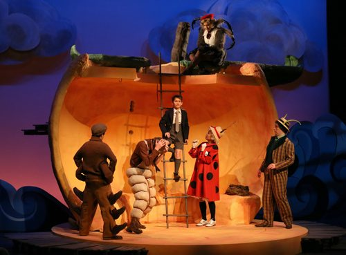 James and the Giant Peach at MTYP, Wednesday, December 2, 2015. (TREVOR HAGAN/WINNIPEG FREE PRESS)