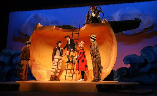 James and the Giant Peach at MTYP, Wednesday, December 2, 2015. (TREVOR HAGAN/WINNIPEG FREE PRESS)